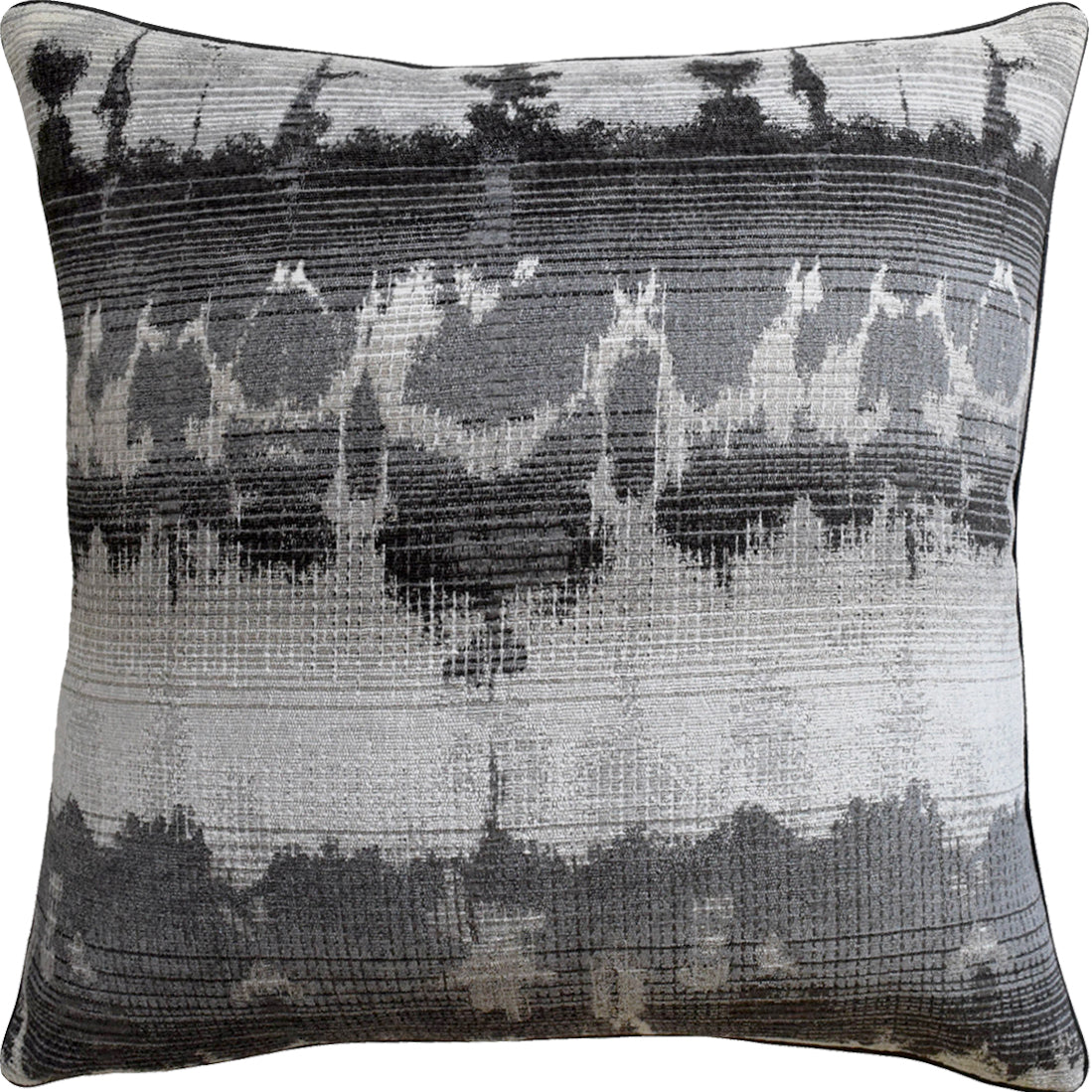 Ryan Studio Watercolor Wash Pillow in Haven Grey