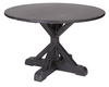 Bryce Dining Table in Wrought Iron