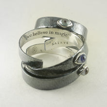 MASCULINO SILVER BRACELET WITH ONE MAGIC EYE