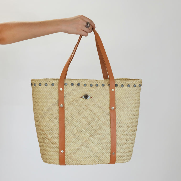 PETATE TOTE BAG WITH MAGIC EYE (S)