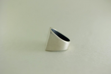 QUADRATUM SILVER RING