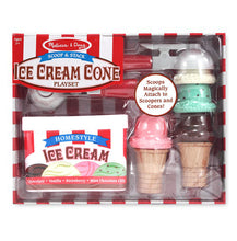 Melissa & Doug® Scoop & Stack Ice Cream Cone Playset