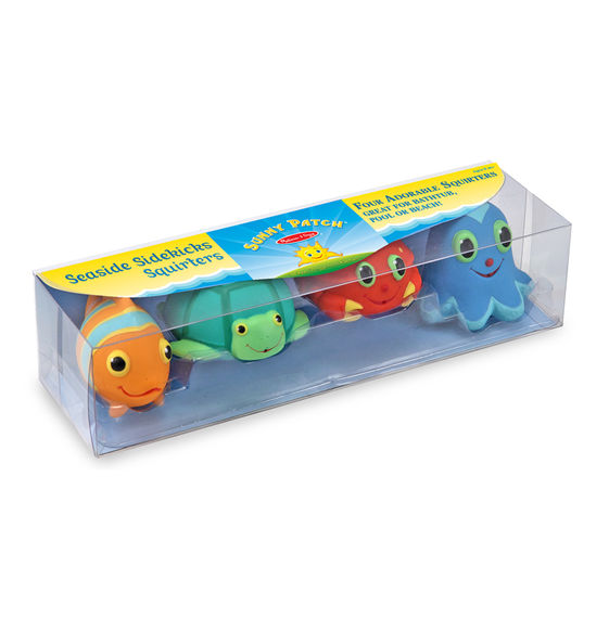 Melissa & Doug® Seaside Sidekicks Squirters Water Toys
