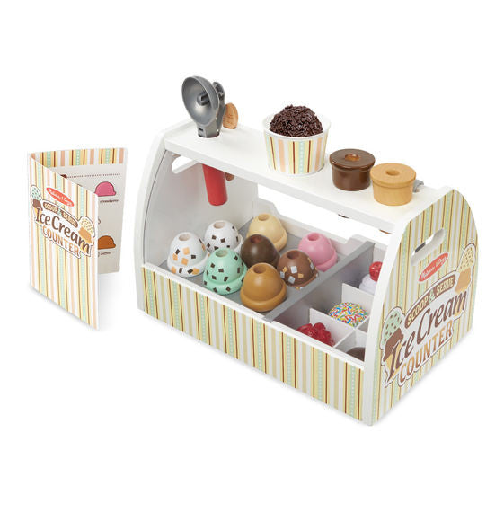 Melissa & Doug® Scoop and Serve Ice Cream Counter