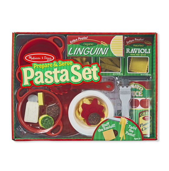 Melissa & Doug® Prepare and Serve Pasta Set
