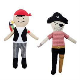 Mud Pie PIRATE DOLL