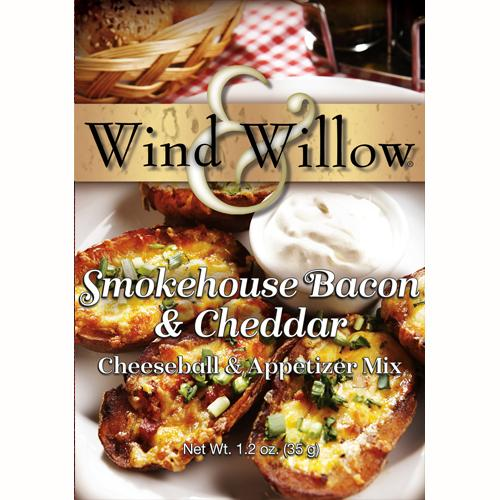 Wind and Willow Smokehouse Bacon & Cheddar Cheeseball & Appetizer Mix