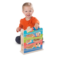 Melissa and Doug® First Play Roll & Ring Ramp Tower