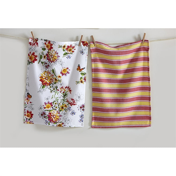 TAG Bloom Dishtowel, Set of 2