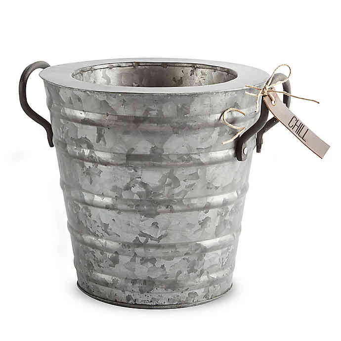 Mud Pie Tin Beverage Cooler