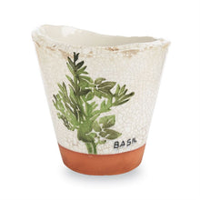 Mud Pie Terracotta Herb Pots