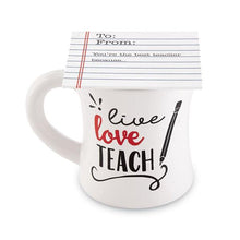 Mud Pie Teacher Cap Mug