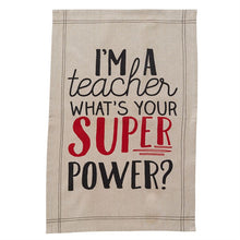 Mud Pie Teacher Towels