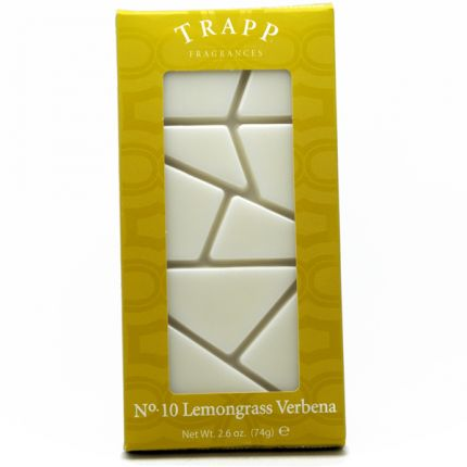 Trapp No 10 Lemongrass Verbena, Home Fragrance Melts