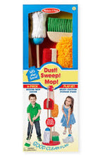Melissa & Doug® Let's Play House! Dust! Sweep! Mop!