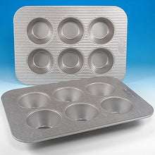 USA PAN® 6-Well Texas Muffin Pan
