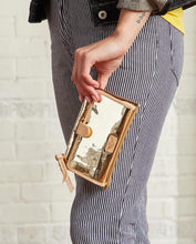 Consuela Goldie Gold Slim Wallet