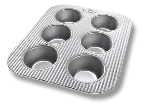 USA PAN® 6 Cup Muffin Pan