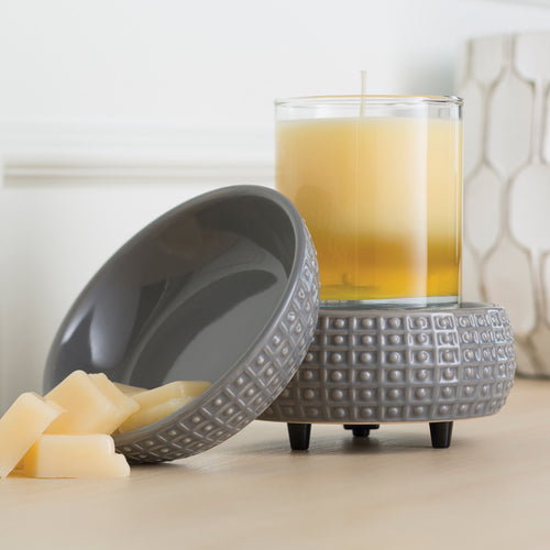 Candle Warmers - Slate Candle 2-in-1 Classic Fragrance Warmer