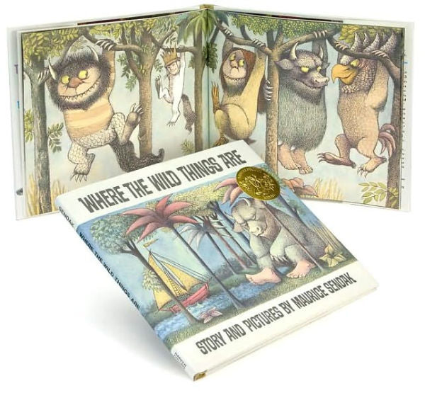 Where the Wild Things Are by Maurice Sendak, Hardcover