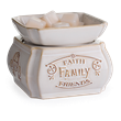 Candle Warmers - Faith, Family, Friends 2-in-1 Classic Fragrance Warmer