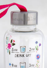 Natural Life - Drink Up Glass Water Bottle