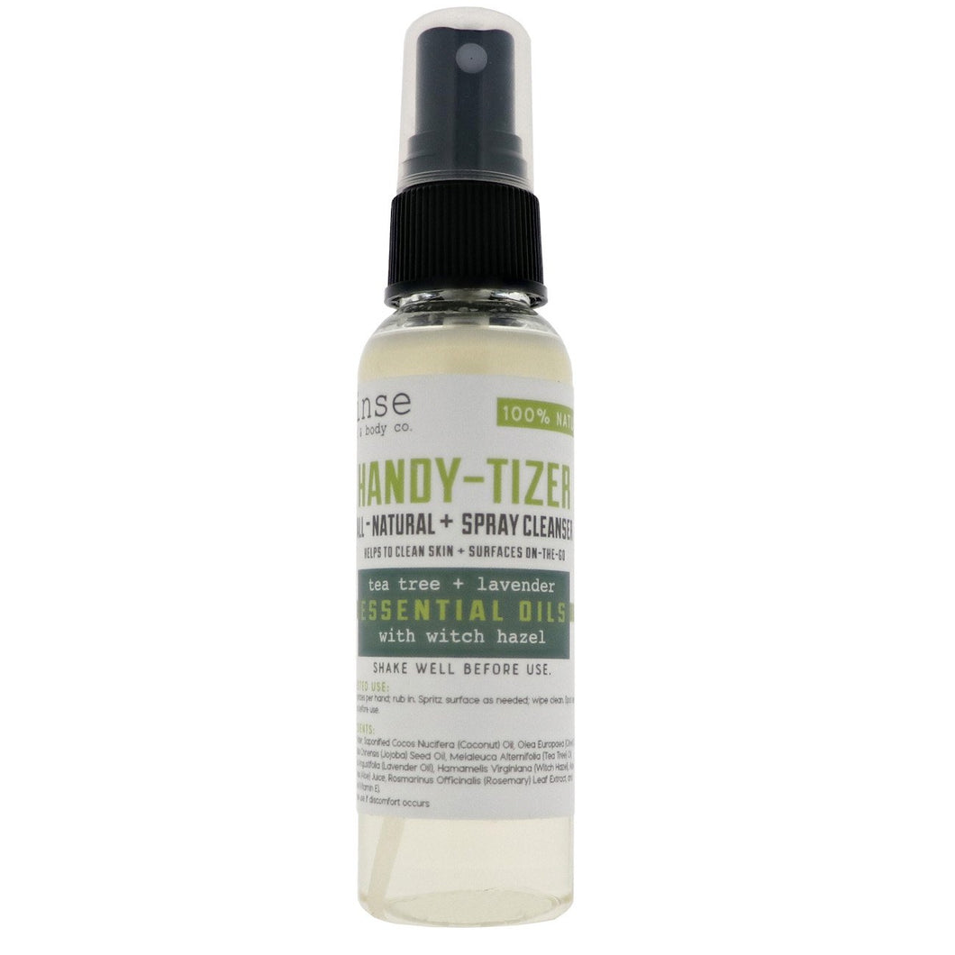 Rinse Bath & Body Co. Handy-Tizer - Tea Tree and Lavender