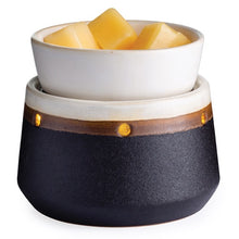 Candle Warmers - Ironstone 2-in-1 Deluxe Fragrance Warmer with Automatic Shut-off Timer