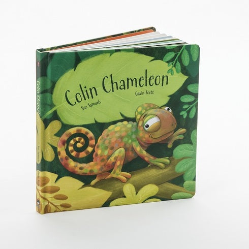 Jellycat Colin Chameleon Board Book