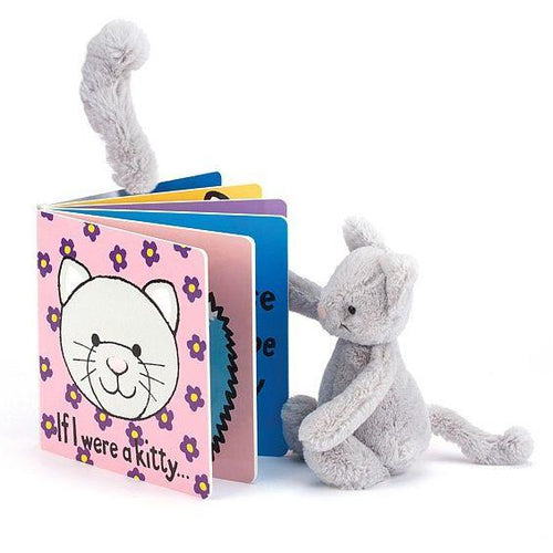 Jellycat If I were a Kitten Board Book and Plush Kitten Set