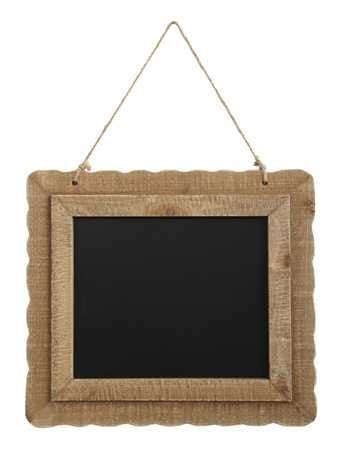 Creative Co-Op Wood Framed Chalkboard