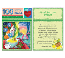 Eeboo Puzzles - Good Fortune Potion 100 Piece Mini Puzzle