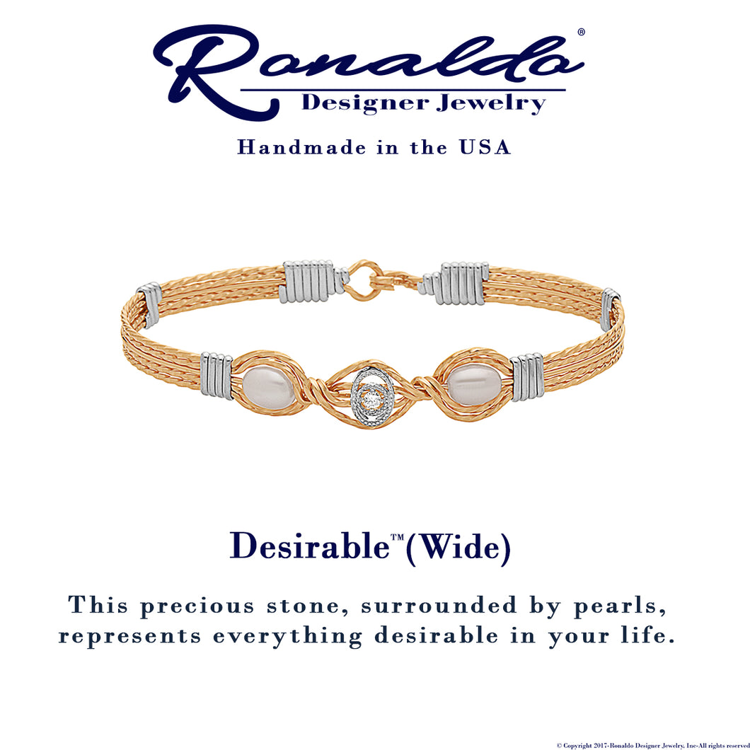 Ronaldo Wide Desirable™ Bracelet