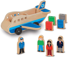Melissa & Doug® Classic Wooden Airplane Play Set