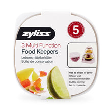 Zyliss® 3-Piece Multi-Function Food Keeper Set
