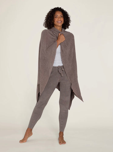 BAREFOOT DREAMS - CozyChic Lite® Wide Rib Travel Wrap