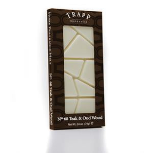 Trapp No. 68 Teak & Oud Wood - 2.6 oz. Home Fragrance Melts