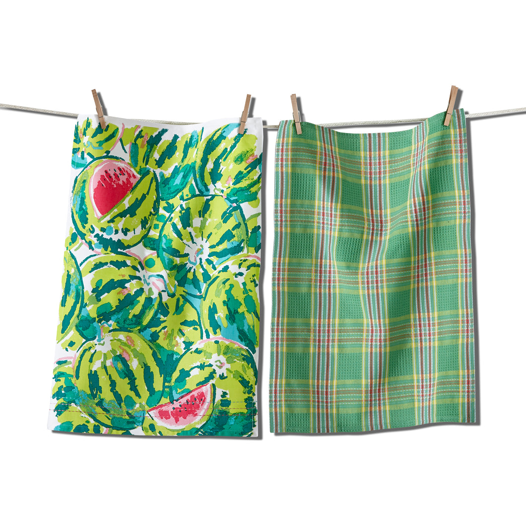 TAG Watermelon Dishtowel, Set of 2