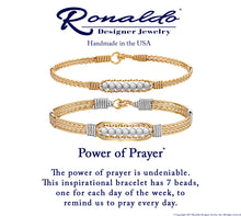 Ronaldo The Power of Prayer™ Bracelet-Wide Style