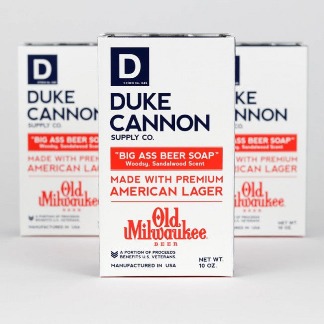 Duke Cannon Old Milwaukee Big Ass Beer Soap