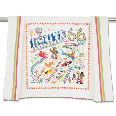 Catstudio® Route 66 Dish Towel
