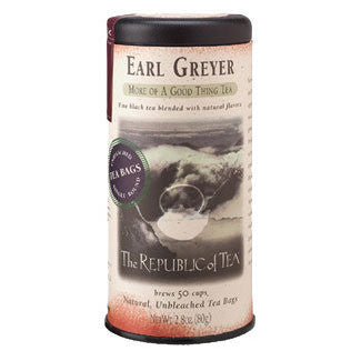 The Republic of Tea Ear Greyer Black Tea Bags