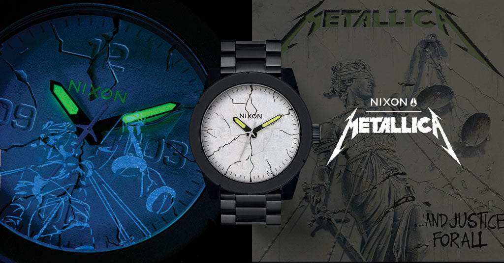 Nixon and Metallica Team Up For Collaborative Watch Set