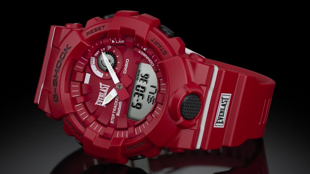 G-Shock And Everlast Collaborate For The Limited Edition BA-800EL-4A Watch