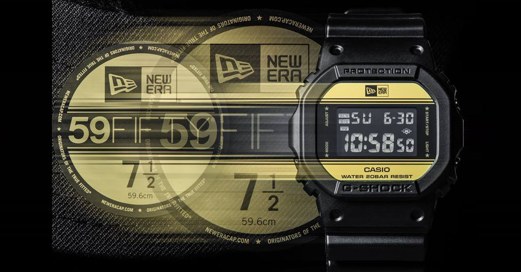 Casio G-Shock Gets With New Era For Limited Edition Black & Gold Watch