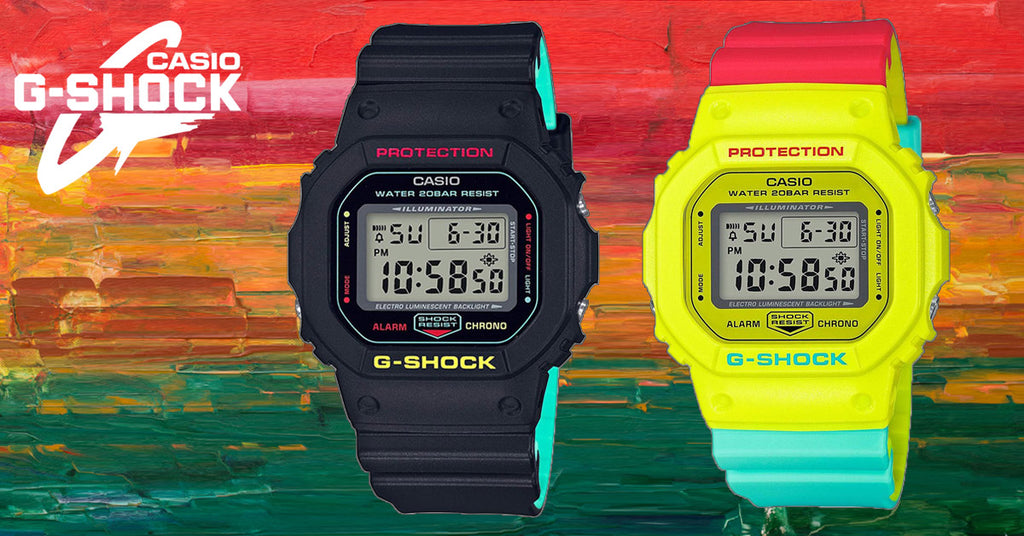 Casio Introduces It's 2018 Rasta Collection Of G-Shock Watches