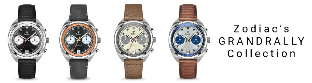Zodiac Releases It's 2018 Line Of 'Grandrally' Pilot Watches