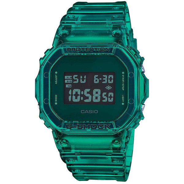Casio G-Shock 90'S COLOR SKELETON Series Green Digital Mens Watch DW5600SB-3