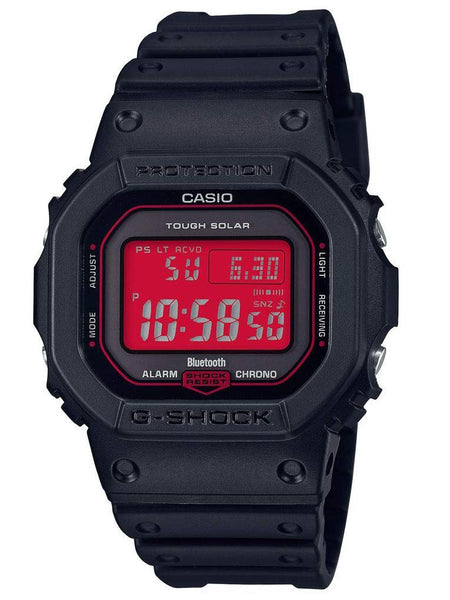 Casio G-Shock ADRENALIN RED Series Black/Red Mens Watch GWB5600AR-1