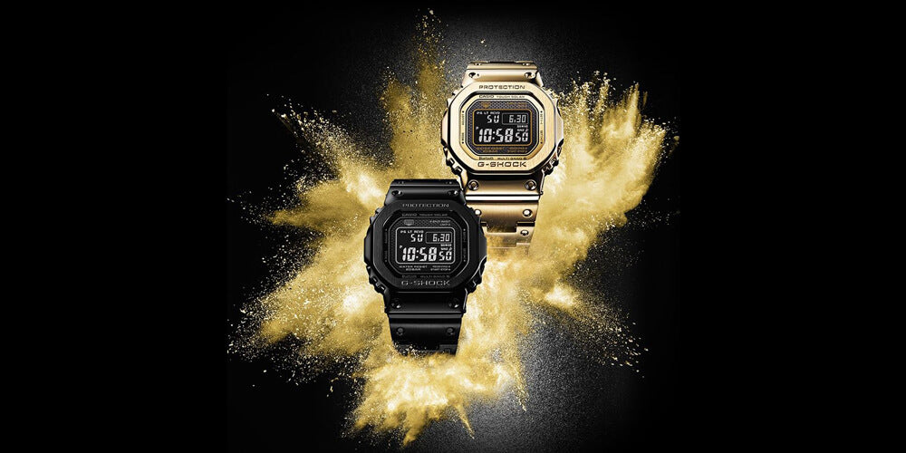 Casio G-Shock FULL METAL Special Edition Limited Mens Watches